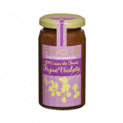 Specialite 100% Fruits Figue Violette 250g