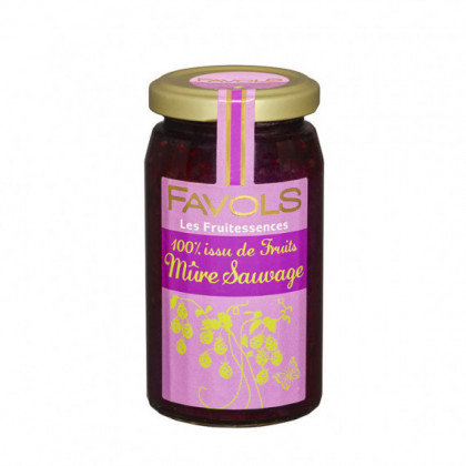 Specialite 100% Fruits Mure Sauvage 250g