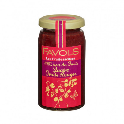 Specialite 100% Fruits 4 Fruits Rouges 250g