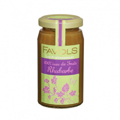 Specialite 100% Fruits Rhubarbe 250g