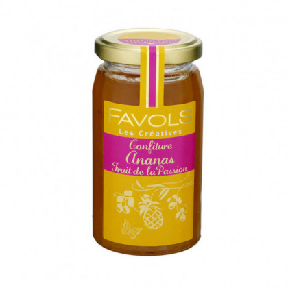 Confiture Ananas Fruit De La Passion 270g