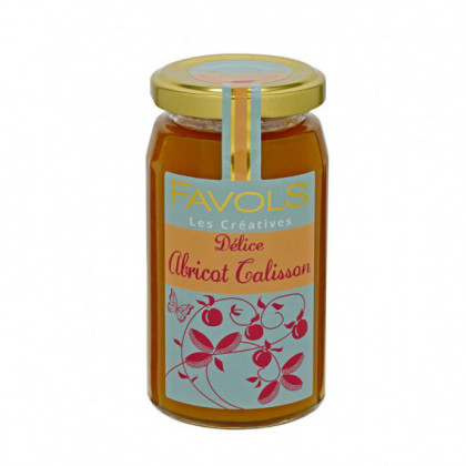 Confiture Abricot Calisson 260g