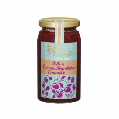 Delice Pomme Framboise-crumble 260g