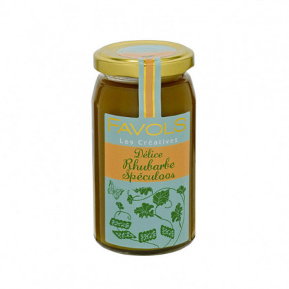 Confiture Rhubarbe Speculoos 260g