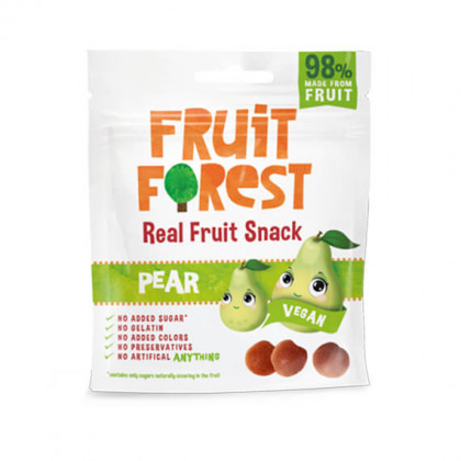 "Snack de fruits ""poire"" - sachet de 30 g"