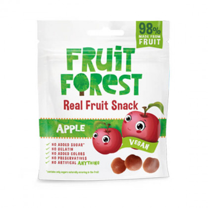 "Snack de fruits ""pomme"" - sachet de 30 g"