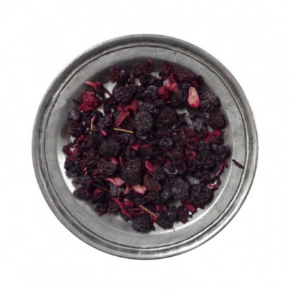 "Tisane ""petits fruits rouges"" (sachet kraft de 100g)"